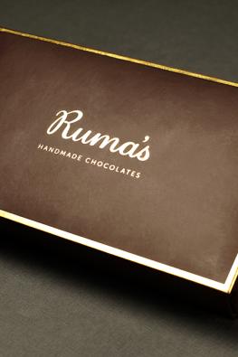 Коробка для шоколада ручной работы Ruma