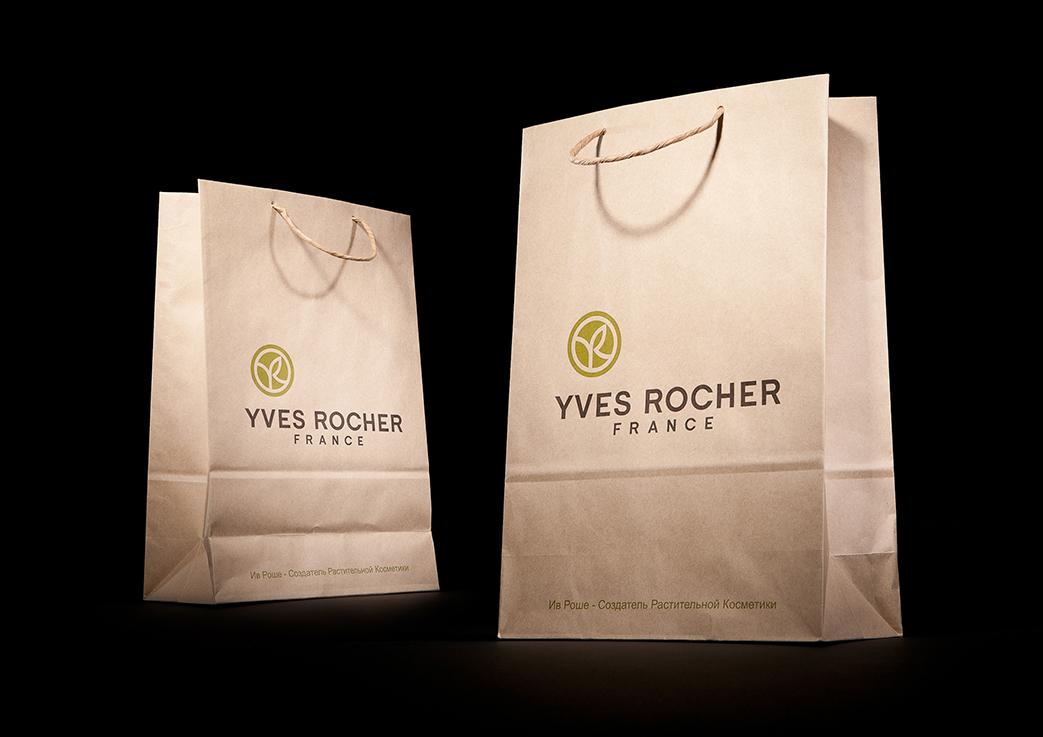 Крафт-пакет Yves Rocher