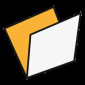 схема фальцовки КНИЖКА (1 фальц)