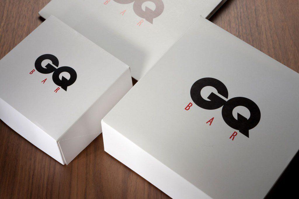 Новогодняя упаковка из текстиля для подарков 125