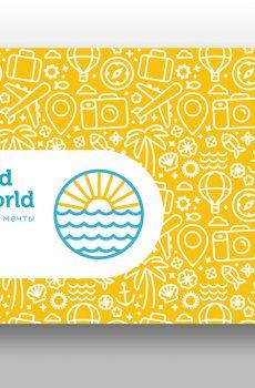 """Карманный календарь """"Around the World"""""""