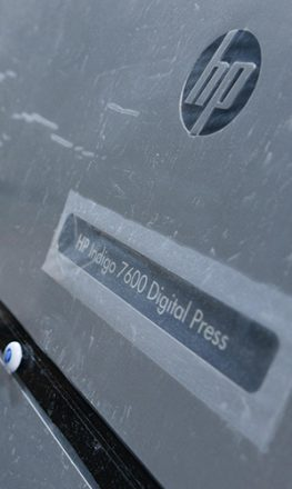 Цифровая офсетная печатная машина hp indigo 7600 в типографии EGF (Еврографика)