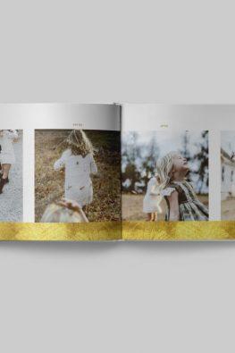 """Фотокнига """"Золотая осень"""". Размер: 280х200 мм. Страницы блока."""