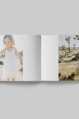 """Фотокнига """"Выходные на природе"""". Размер: 280х200 мм. Страницы блока."""