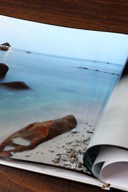 """Фотокнига """"Отпуск на дальних берегах"""". Размер: 280х200 мм."""