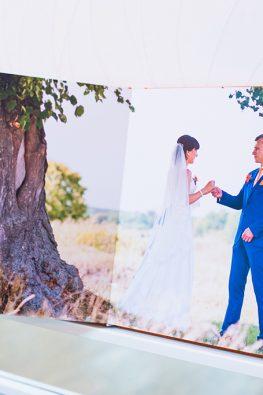 """Фотокнига """"Свадебный этюд"""". Размер: 200х200 мм."""