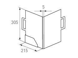 Папка-портфель 260x305x5