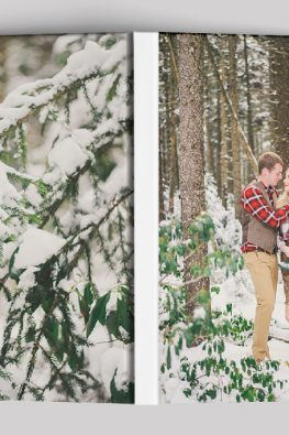 """Фотокнига """"Зима не помеха"""". Размер: 200х280 мм. Твердая обложка фотобука."""