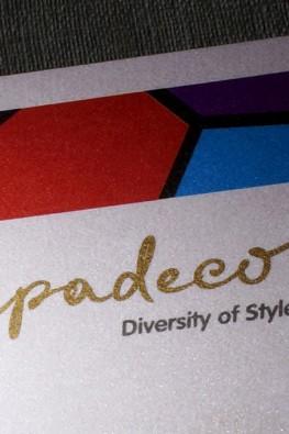 визитки компании Capadecor (декоративные покрытия)