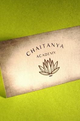 визитки Chaitanya Academy