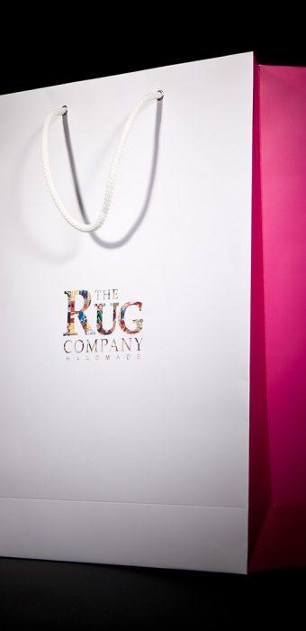 """Бумажный пакет для компании """"RUG Company"""""""