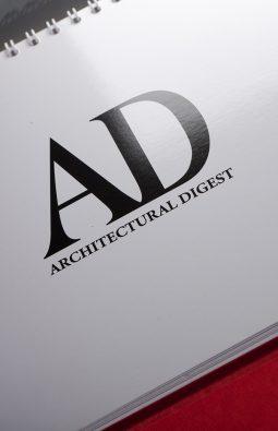 """Настольный перекидной календарь """"Architectural Digest"""""""