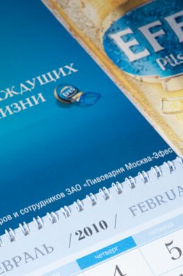 """Квартальный календарь """"Efes"""""""