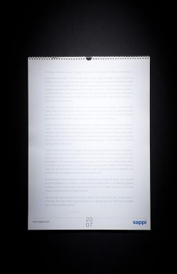 """Настенный перекидной календарь """"Sappi"""""""