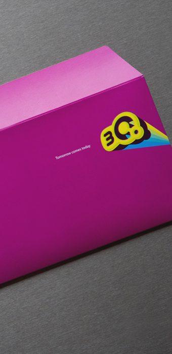 """конверт """"3Q"""""""