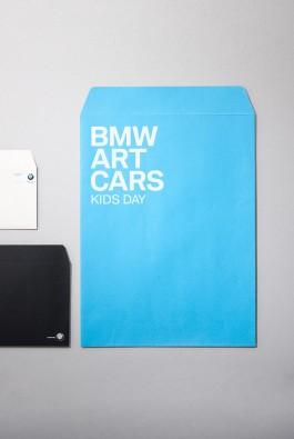 """конверт """"BMW Art Cars"""" к мероприятию Kids Day"""