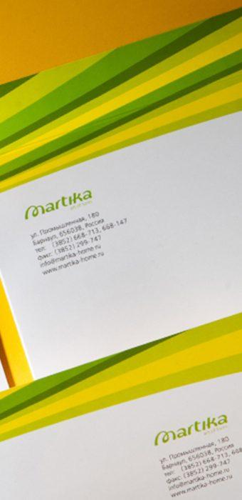 "конверт ""Martika"""