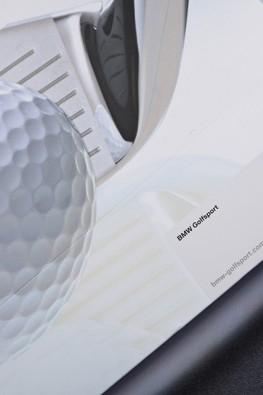 """Бумажный пакет для компании """"BMW"""" к мероприятию """"Golf Cup International 2011"""""""