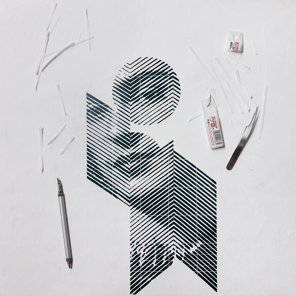 Трафаретная печать, шелкография, гравюра, линотипический станок, полиграфия, шелкограф, резчик бумаги, резак для бумаги, фотограф, краска, монохром, дизайнерский принт, художник, вырубка, тигельный пресс