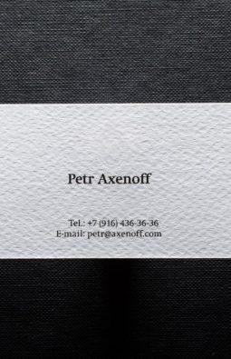 визитки ювелирного дизайнера