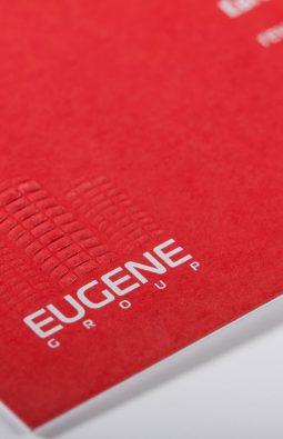 "Визитки компании ""Eugene Group"""