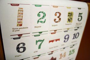 Календарь, дизайн календаря, отрывной календарь, перфорация, квартальный календарь, квартальник на трех пружинках, стикеры, клеевой клапан, дизайнерский концепт