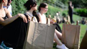 бумажный пакет, бумажный рюкзак, типография на Шаболовке, бумажные пакеты на Шаболовке, заказать бумажные пакеты, фирменная упаковка, рекламный носитель, логотип