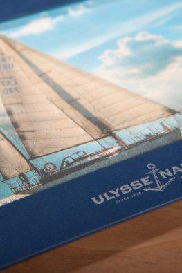 Фоторамка Ulysse Nardin из дизайнерской бумаги
