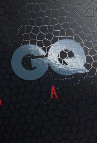 Образец выборочной УФ-лакировки на примере меню ресторана GQ Bar