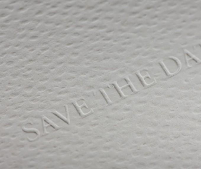 """Образец вырубки на примере приглашения """"Save the date"""""""