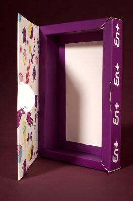 Картонная коробка EN+