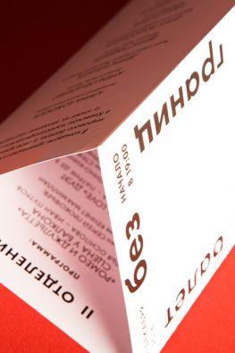 """Буклет для Большого Театра """"Балет без границ"""""""