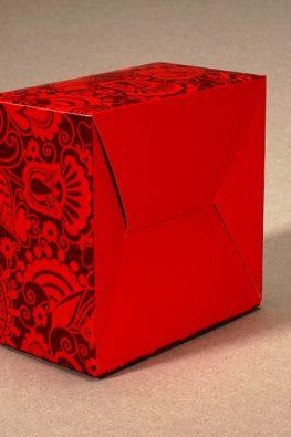"""Картонная коробка для карточек-путеводителей Antibuki """"WOW-Город на каждый день"""""""