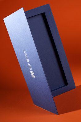 Картонная коробка для карандашей на магнитах для компании Senentsy
