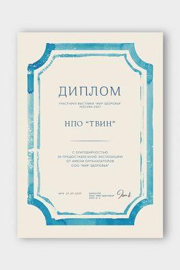 """Диплом НПО """"ТВИН"""""""