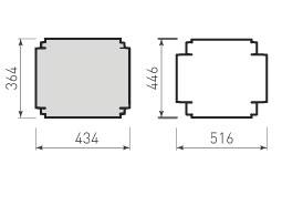 Коробка крышка и дно с оклейкой 350x280x70