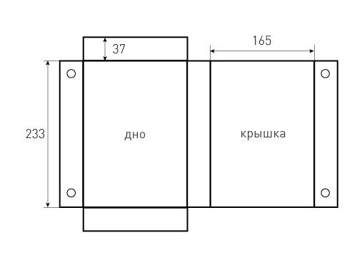 Коробка на магнитах 165x37x233. Звездные войны, превью 500x375 пикселей