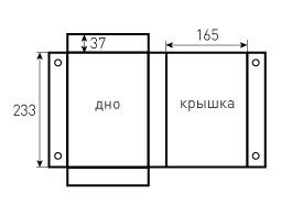 Коробка на магнитах 165x37x233. Звездные войны, превью