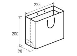 Горизонтальный пакет Г225x200x90