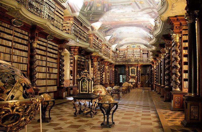 Библиотека Эскориал. Мадрид, Испания