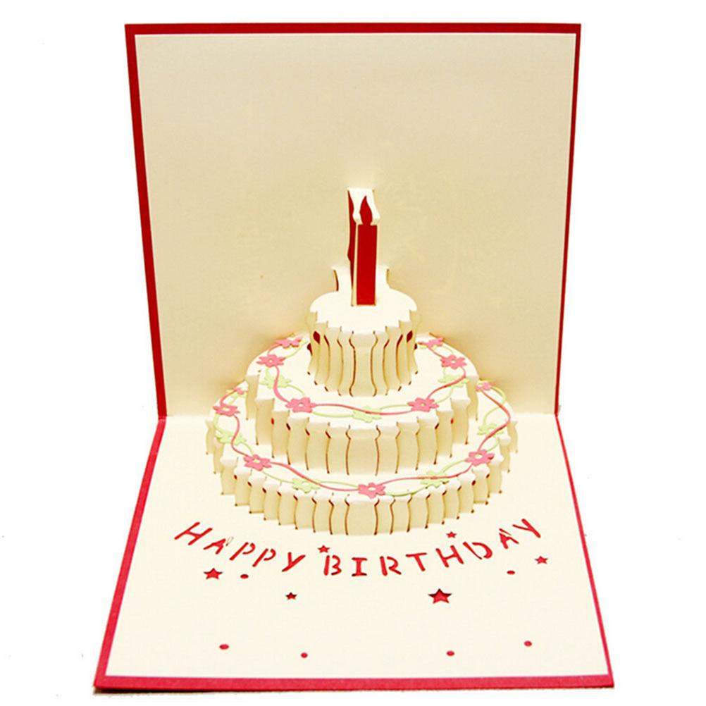 открытка-трансформер ко дню рождения