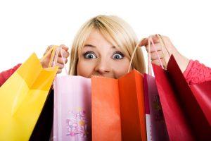Бумажные пакеты для шопинга