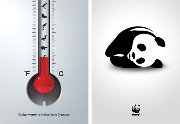 Экологические плакаты WWF