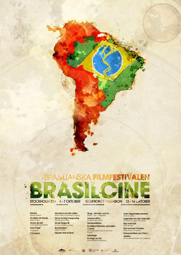 Плакат бразильского кинофестиваля