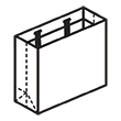 Штамп для вырубки горизонтального бумажного пакета g 350-240-90. Привью 110x110 пикселов.