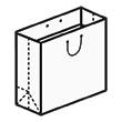 Штамп для вырубки квадратного бумажного пакета k 300-300-120. Привью 110x110 пикселов.