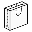 Штамп для вырубки квадратного бумажного пакета k 400-400-123. Привью 110x110 пикселов.