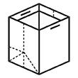 Штамп для вырубки вертикального бумажного пакета под бутылку v 160-190-160. Привью 110x110 пикселов.