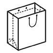 Штамп для вырубки вертикального бумажного пакета v 210-215-85 (1 шт. на штампе). Привью 110x110 пикселов.