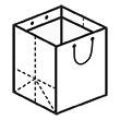 Штамп для вырубки вертикального бумажного пакета v 250-300-210 (1 шт. на штампе). Привью 110x110 пикселов.